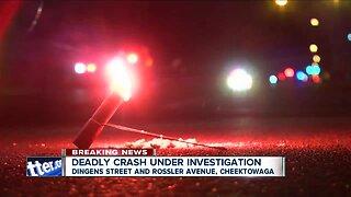 21-year-old woman dead after Cheektowaga crash