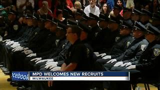 Milwaukee Police Department graduates new recruits