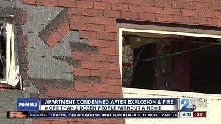 Explosion fire in Northeast Baltimore still under investigation