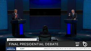 Final Presidential debate before election