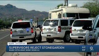 Supervisors vote 3 to 2 rejecting Stonegarden funding