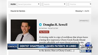 Cherry Creek dentist disappears, leaving patients without records, money