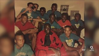 Memories of Michael Jordan at a basketball clinic at Woodward High School