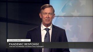 Debate: Hickenlooper on Colorado pandemic response