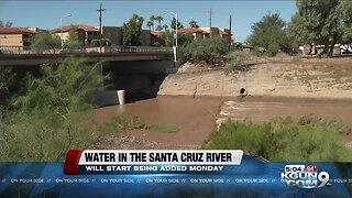 Reclaimed water to flow in Santa Cruz River