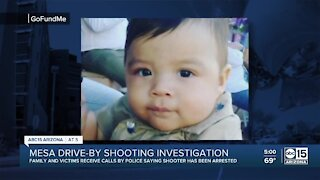 Suspect arrested in Mesa shooting that left 1-year-old dead, family says
