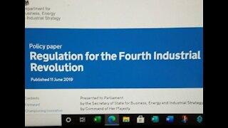 New World Order, gov.uk Plans for 4th Industrial Revolution