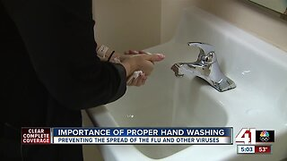 Hand washing important to prevent spread of flu, other viruses