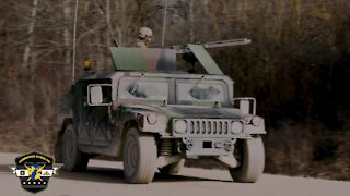 Military Police Operation Set-up for Combined Resolve XV