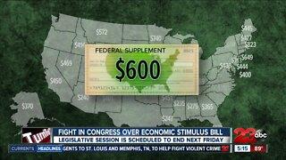 Fight in Congress over economic stimulus bill