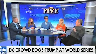 The Five: Trump's 'laughing' at World Series booing