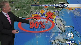 Tropical Storm forming in the Gulf