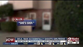 Oklahoma man accidentally shoots girlfriend
