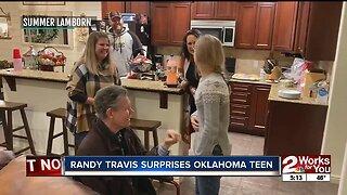 Randy Travis Surprises Teen