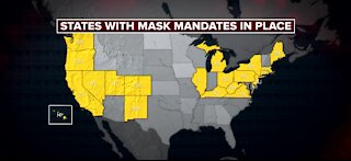 Some Americans remain confused about latest mask-wearing announcement