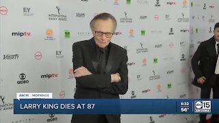 Larry King dies at age 87