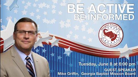 DCRWC - Mike Griffin Guest Speaker