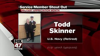 Yes Squad - Service Member Shout Out - Todd Skinner
