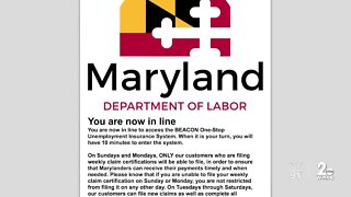 Impostor uses Maryland man's identity to steal unemployment insurance benefits