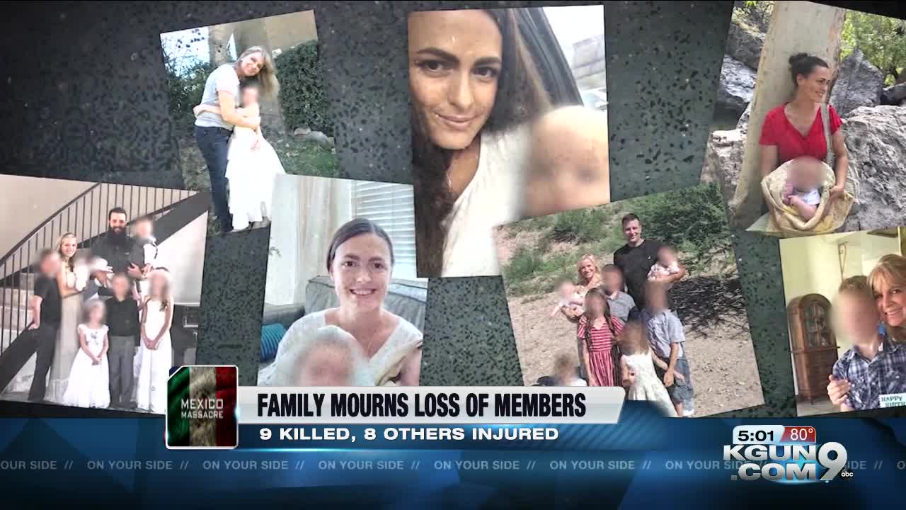 Family mourns loss of members