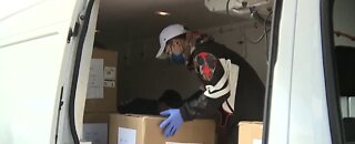 Local Chinese community donates needed medical supplies