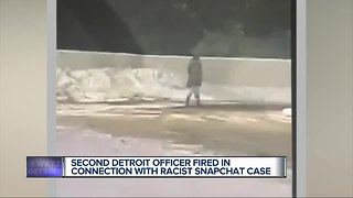 Second Detroit police officer involved in racist Snapchat post fired