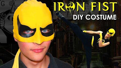 Last minute Halloween Marvel 'Iron Fist' costume cosplay