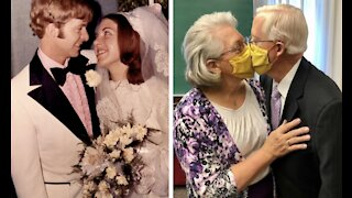 'It's just a miracle'; Couple remarries after 27 years apart