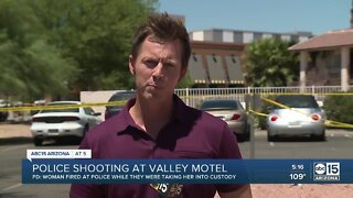 Officer-involved shooting at Valley motel leaves one injured