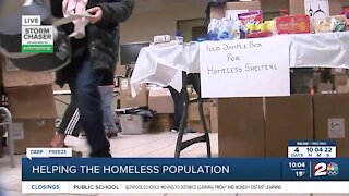 Local organizations work to protect the homeless from winter weather
