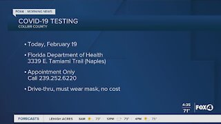 COVID testing in Naples available