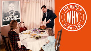 More Masks and Less Family: Happy Orwellian Thanksgiving!   Ep 666