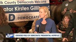 New York Senator Kristin Gillibrand officially enters 2020 presidential race