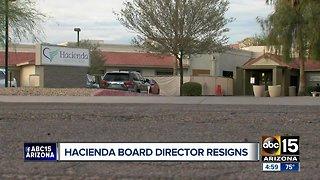 Hacienda HealthCare board director Tom Pomeroy resigns