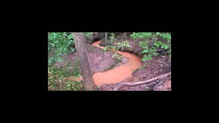 Rain Hike, Muddy Brooks and Streams, Part 2 of 2