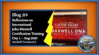 MT2 Growing Leadership Blog #4 - Reflection on JMT IMC - Day 1