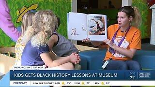 Glazer Children's Museum gives children black history lessons