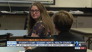 """Harford County students address mental health: """"let's start the conversation"""""""