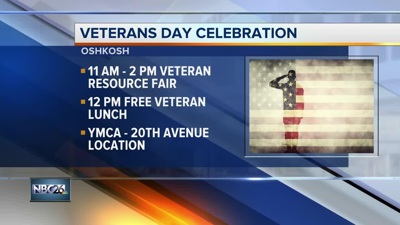 Free Veterans day celebration