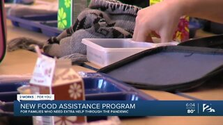 A New Food Assitance Program Helping Families