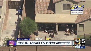 Sexual assault suspect arrested in Avondale