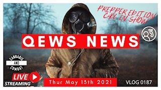 Qews News Thur May 13th 2021 VLOG 0187