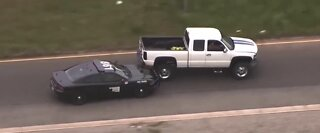Caught on Camera: Trump rolls over during pursuit