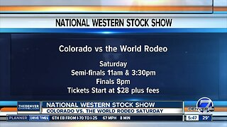 First rodeo at National Western is Colorado vs the World