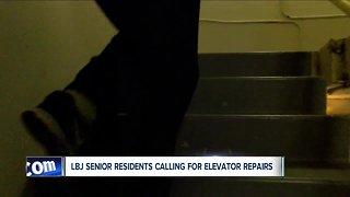 Elevators constantly broken at senior living complex
