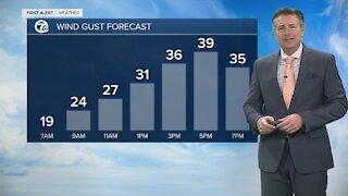 7 First Alert Forecast 4:30 a.m. Update, Monday, March 1