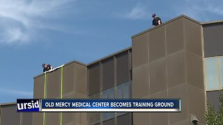 Giant complex gives local first responders a unique training ground
