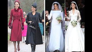 Meghan Markle vs Kate Middleton wedding
