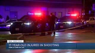 17-year-old boy shot outside of funeral home