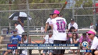 10th annual Pink Ball softball game